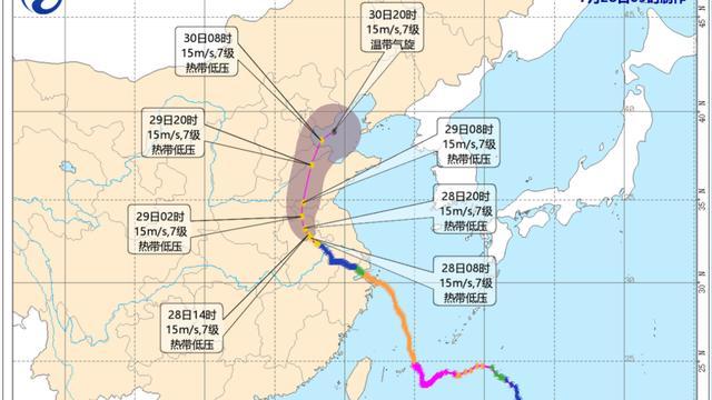 """台风""""烟花""""最新消息!六安再发预警信息!"""