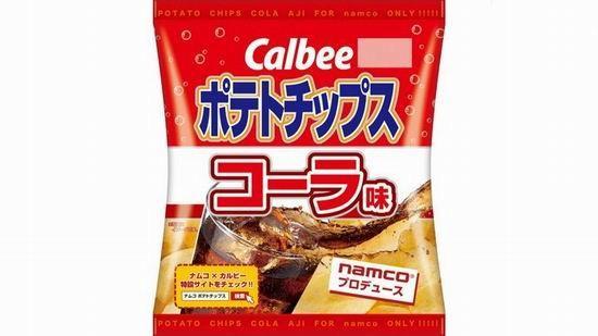 简直黑暗零食 南梦宫推出可乐味限定薯片
