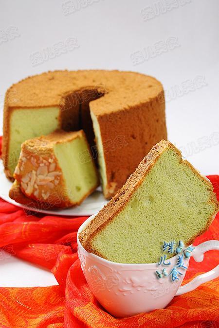 大麦若叶青汁粉的吃法,排毒养颜的大麦若叶青汁蛋糕