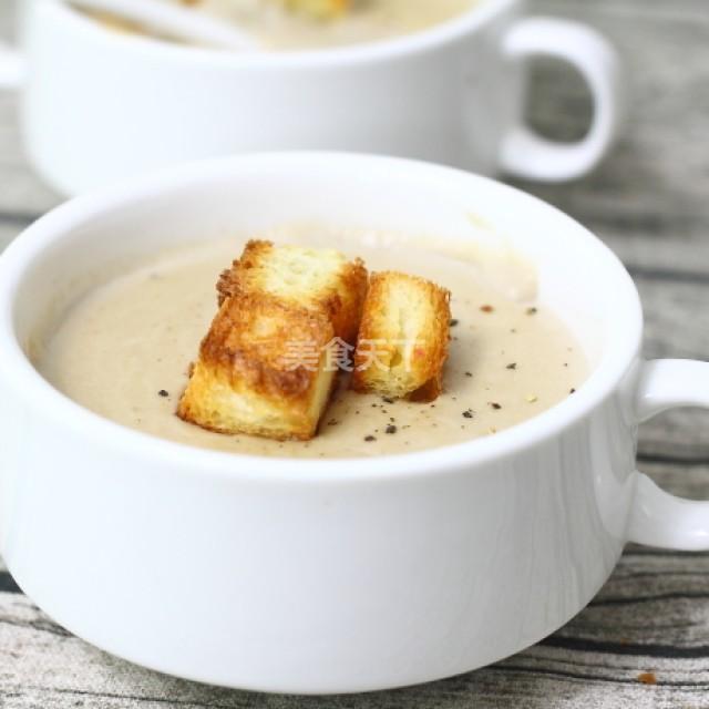 奶油蘑菇汤的做法,奶油蘑菇汤