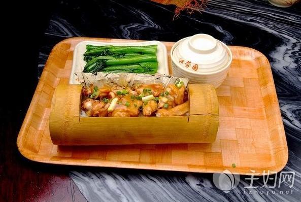 竹筒饭的做法,竹筒饭怎么做口感Q弹清香扑鼻