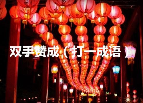 蜜饯黄连打一成语,2017年元宵节成语灯谜,看看你会几个
