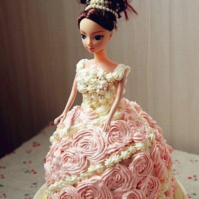 芭比娃娃怎么做,九阳烘焙剧场芭比娃娃养成记的做法步骤