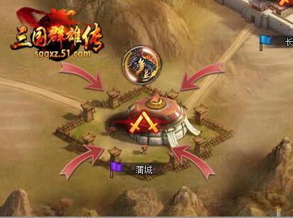 三国网页游戏排行榜,51《三国群雄传》一起来屠龙