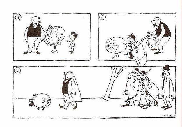 父与子的漫画,卜劳恩和他的连环漫画《父与子》