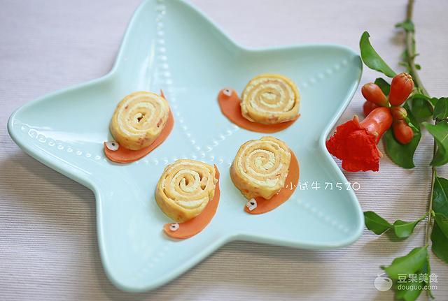 蜗牛的吃法与做法,蜗牛鸡肉番茄鸡蛋卷