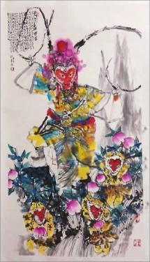 猴语祝福语,丙申正月画吉猴:古时申猴也称神猴