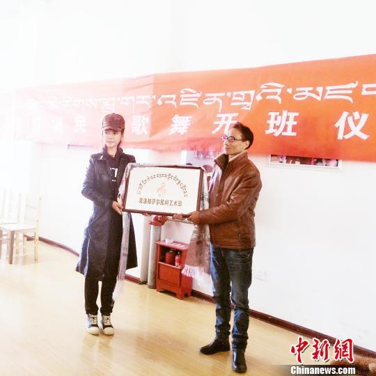 """艺术团简介,""""中国格萨尔文化之乡""""格萨尔民间艺术团正式挂牌成立"""