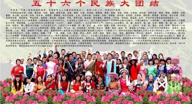 少数民族有哪些,中国少数民族人口排行,第一名实至名归,最后一名人数才几千人!