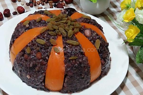 金瓜的做法,年夜饭(四)金瓜八宝饭