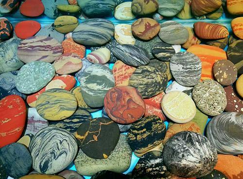 成语石头,这些石头太美了,该用什么来形容呢?