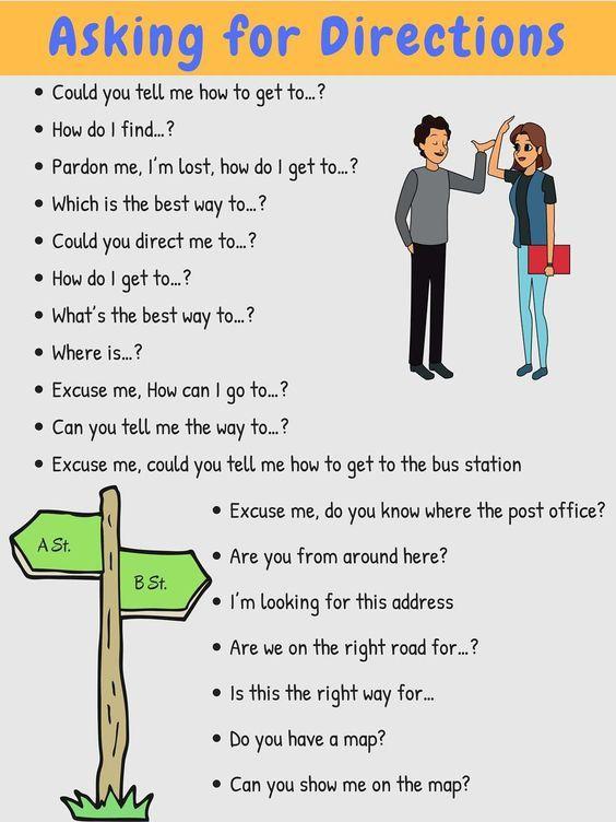 英语的句子大全,弄明白这些问路的英语句子,走遍天下都不怕迷路!值得永久收藏