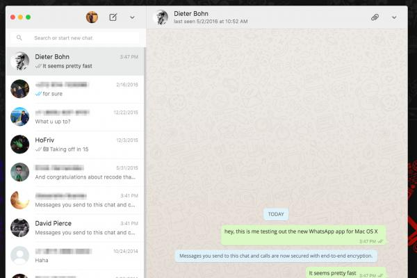 whatsapp网页版,即时通信应用WhatsApp推出Mac/Windows桌面客户端