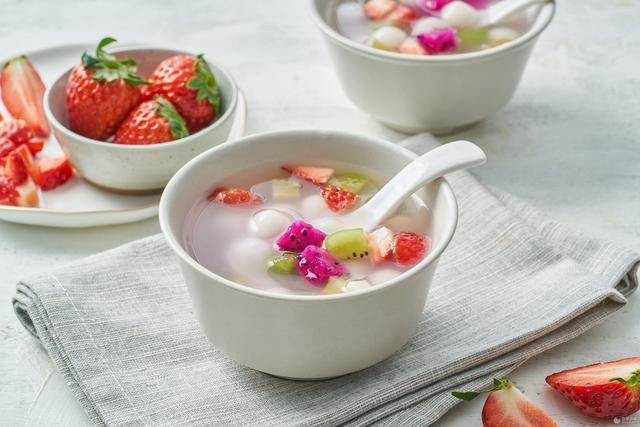 小汤圆甜汤的各种吃法,水果小汤圆的做法