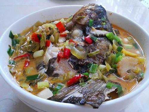 酸菜的做法大全,酸菜鱼头的做法大全