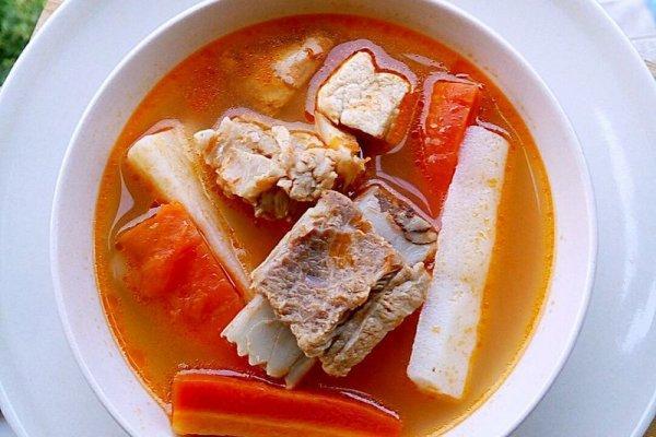 番茄排骨汤的做法,番茄排骨汤的做法步骤