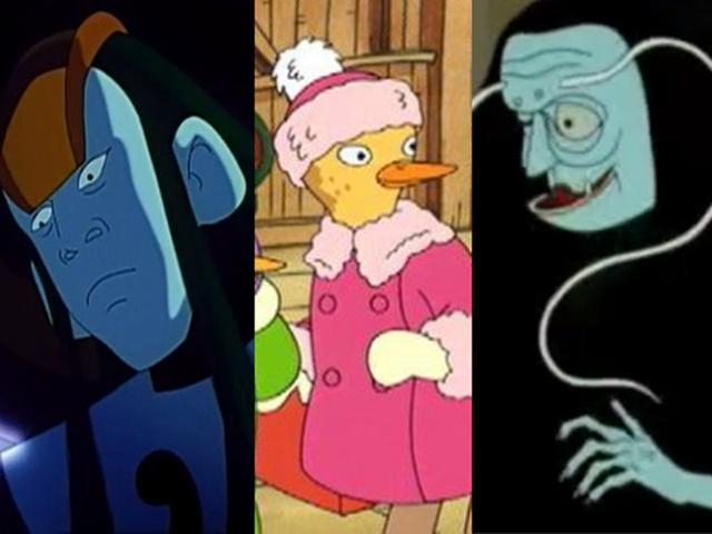 天眼动画片,7部小时候看过的恐怖动画,原来我们都是被吓大的!