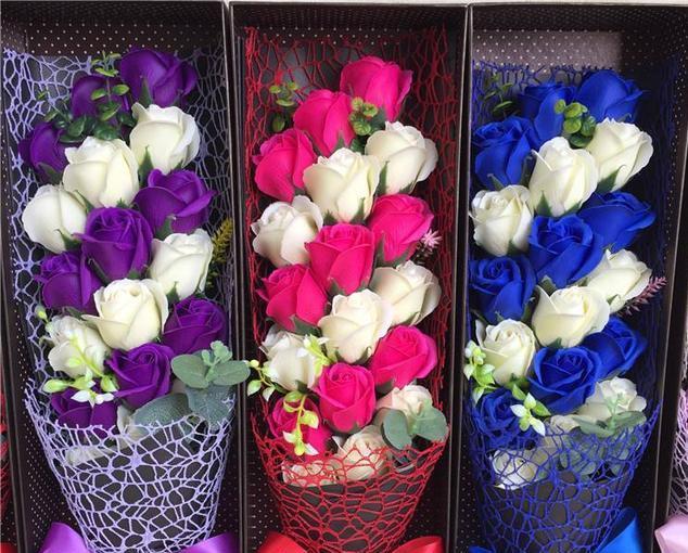 玫瑰花图片,浪漫七夕,双生玫瑰,愿你和最爱的她如影随形,一生一世一双人