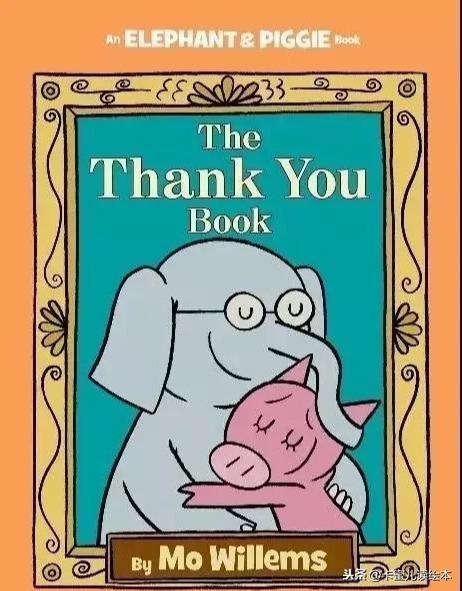 有声英文绘本故事《The Thank You Book》