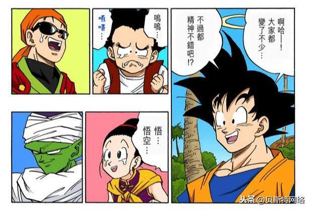 龙珠的漫画,「七龙珠全彩」漫画第430篇:龙珠战士再次集合