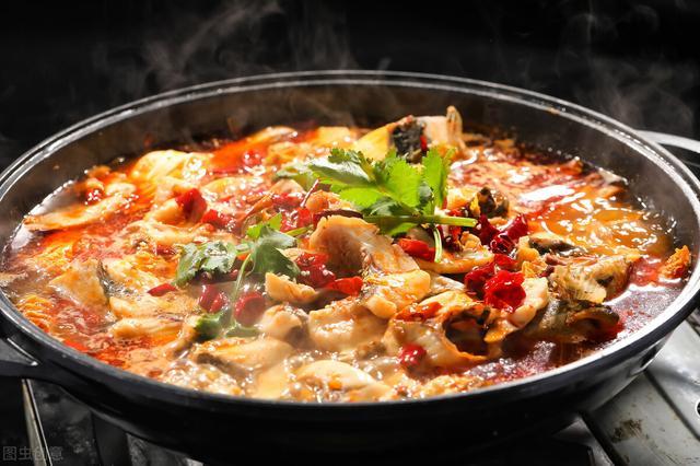 水煮鱼怎么做,水煮鱼的做法,肉质滑嫩Q弹,口味麻辣鲜香,辣而不臊,百吃不腻