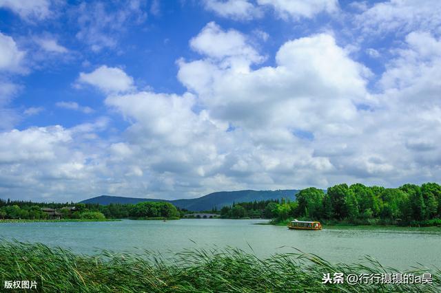 尚湖风景区,常熟地形最奇特的景区,山水相对称,平面形状98%相似,全国罕见