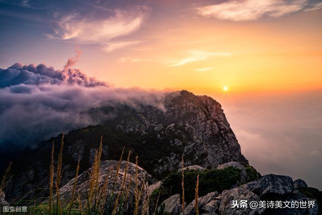 早上的诗,清晨杨万里走在山路上,悟出这首诗,最后7字被不少人当人生箴言