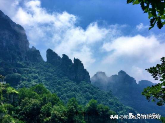 白石山风景区,云游河北 | 遇见白石山,神秘奢华的磅礴之美!