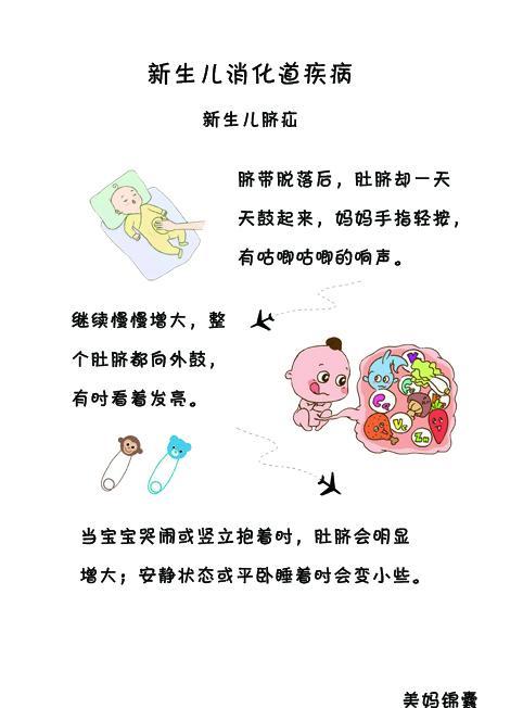 婴儿脐疝,新生儿消化道常见疾病之脐疝