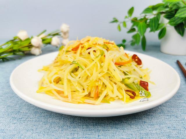 怎么做丝,土豆丝怎么做好吃?大厨分享5个技巧,土豆丝晶莹剔透,酸辣脆爽