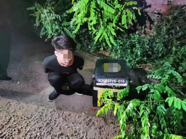 石家庄最新消息,石家庄裕华警方一小时抓获盗窃外卖电动车嫌疑人