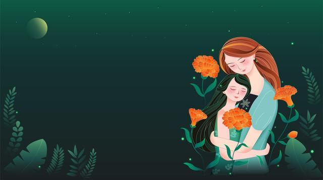 感恩母亲的诗,母爱——献给母亲节的诗