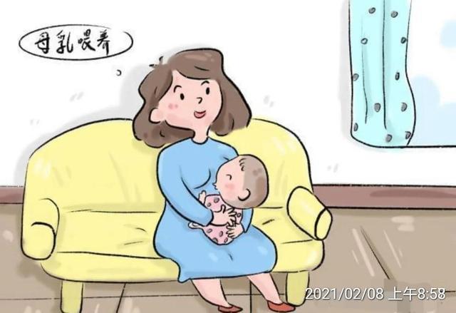 婴儿喂奶时间,0~3个月:单纯母乳喂养期
