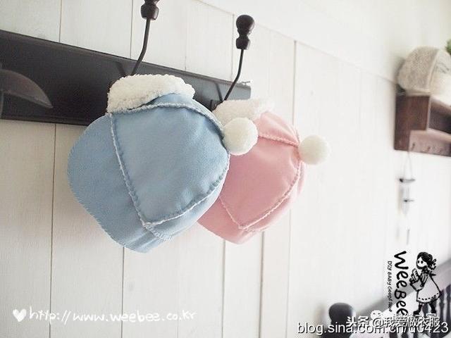 婴儿帽子,两款萌萌的婴儿帽子教程
