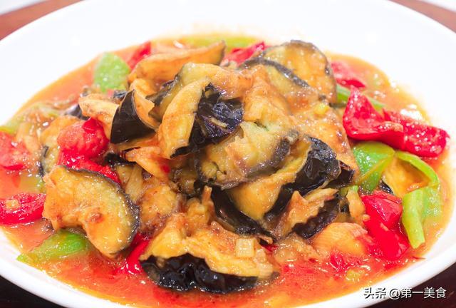 红烧茄子怎么做,厨师长分享家常红烧茄子做法,酸酸甜甜不油腻,外酥里软味道香