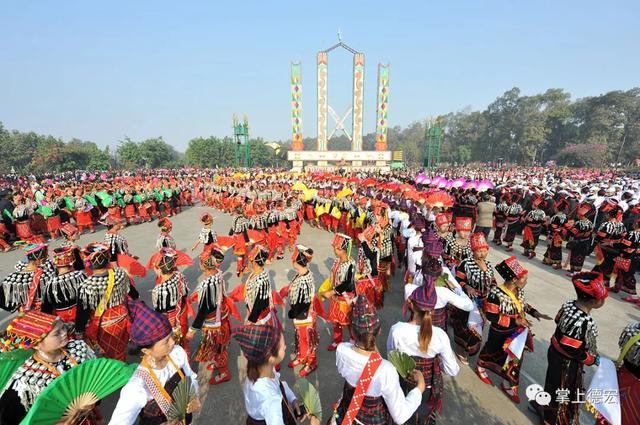 景颇族的传统节日,德宏文旅 在陇川体验景颇风情