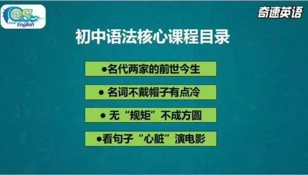 初三英语差生中考英语这样复习,奇速英语能帮你再提10分!