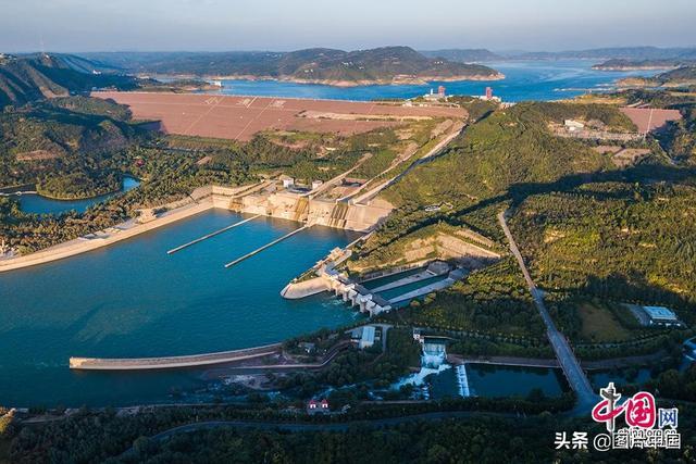 中国梦图片,母亲河,原来你如此美丽 之 水利工程「中国梦•黄河情」