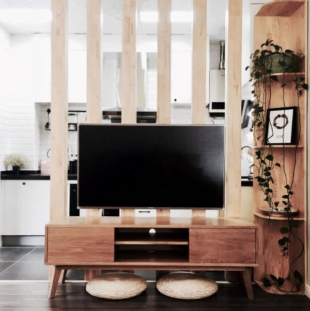 电视怎么做,谁说电视就一定要挂在客厅墙壁上,你看看人家怎么做的,学学