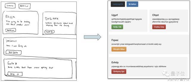 网页制作代码,写个网页更简单了!让AI根据手绘原型生成HTML | 教程+代码