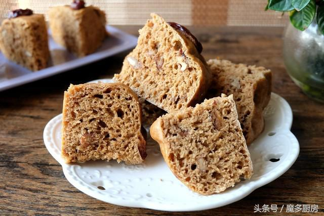 怎么做发糕,好吃的红糖发糕怎么做?仔细看这里,简单易做,好吃又营养!
