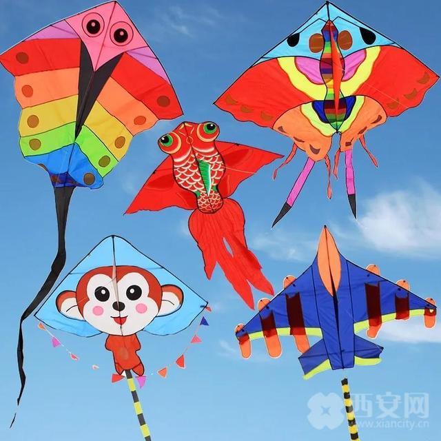 放风筝技巧,约起来!西安放风筝最佳去处超全攻略!趁着周末去遛娃!