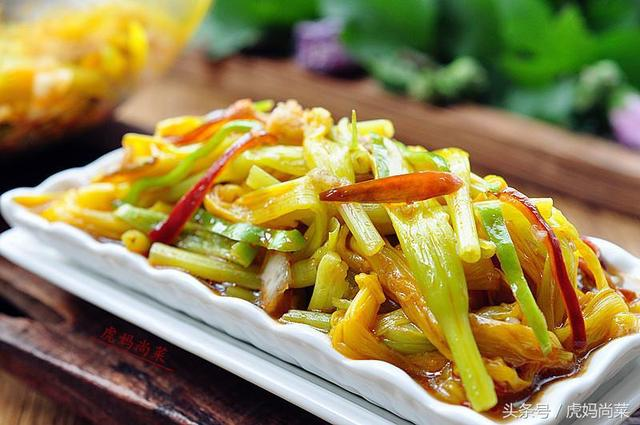 新鲜黄花菜的吃法,凉拌鲜黄花菜的最好吃做法