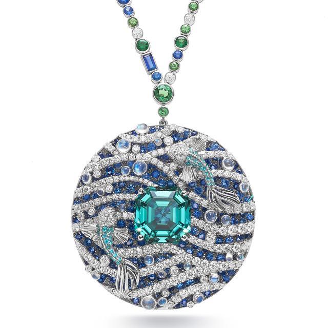 「拉莫儿带你看珠宝」Tiffany & Co. 蒂芙尼 Blue Book 挂坠项链