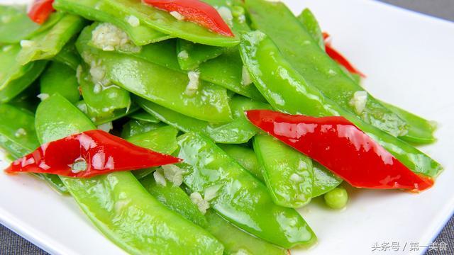 荷兰豆怎么做好吃,荷兰豆如何烧色泽亮,口感脆?大厨分享地道的家常做法,清淡美味