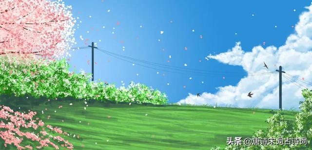 带里的诗,美人如诗,草木如织,那些藏在《诗经》里的春天