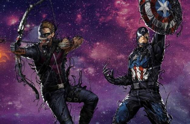 毒液图片,当漫威英雄都被毒液化,怎么看起来都像超级反派