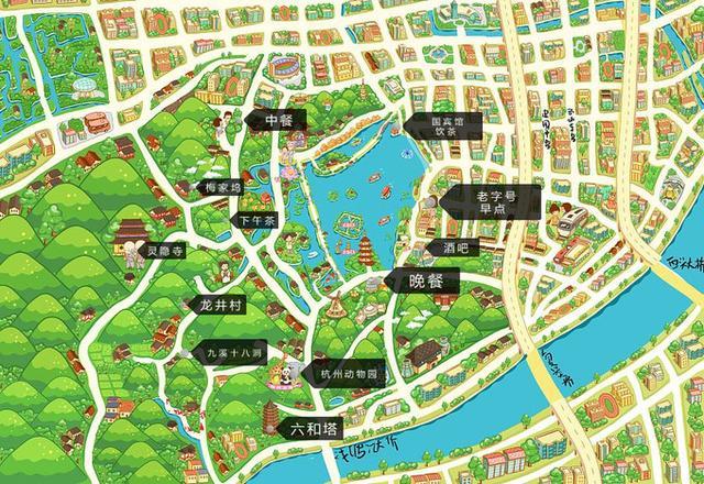 杭州美食图片,杭州吃货美食超全攻略