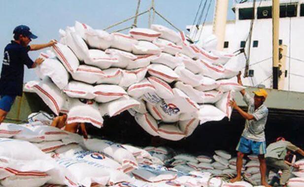 2021年1月越南出入口稻米34273吨,环比上年降低32.