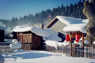 描写雪景的唯美句子,散文:雪落人间,声色皆美